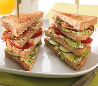 Club sandwich - Recept - Jumbo Supermarkten