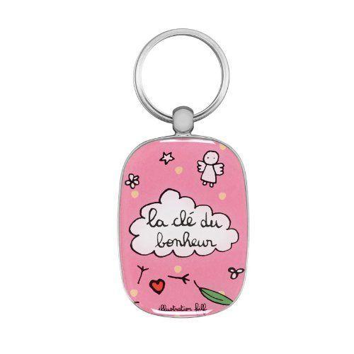 Porte-clés La clé du bonheur - rose- DLP -Derrière la Porte, http://www.amazon.fr/dp/B00JMBJD6U/ref=cm_sw_r_pi_awdl_PdMuvb1DF6XHQ