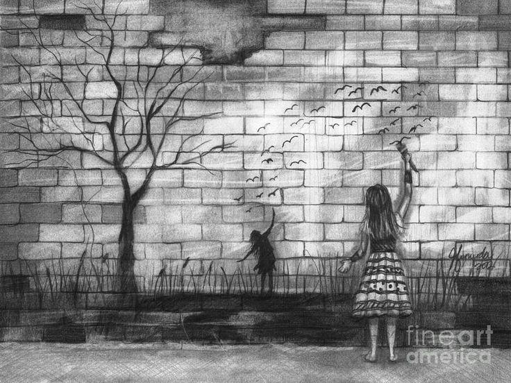 The 25+ best Brick wall drawing ideas on Pinterest   Draw ...