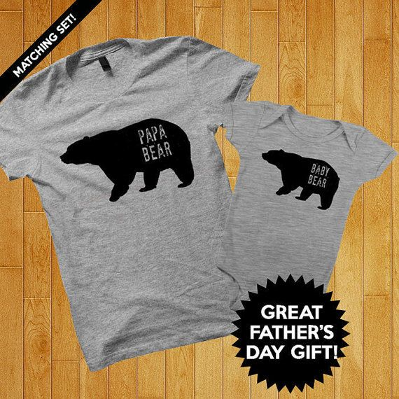 Daddy And Baby Matching Shirts Fathers Day Gift New Dad To