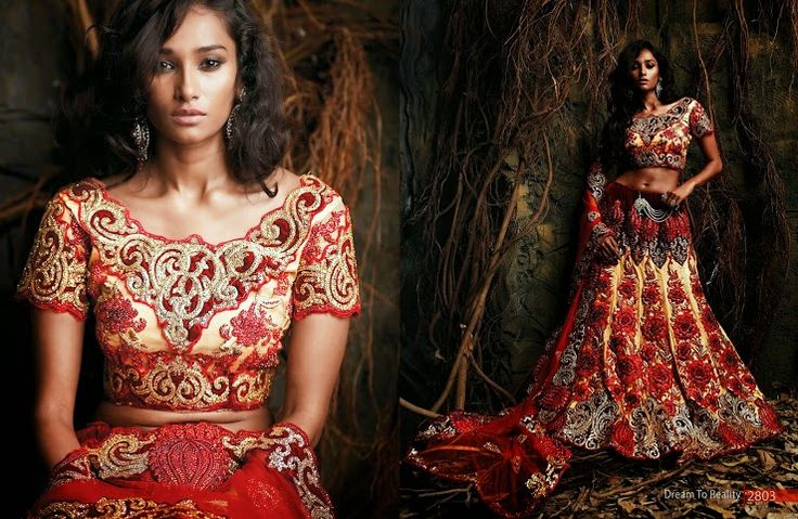 Beautiful collection of Netted Wedding Lehenga with heavy embroidery work en-crafted in Golden Maroon color. Along with Contrast Matching Netted Duppatta and Blouse.