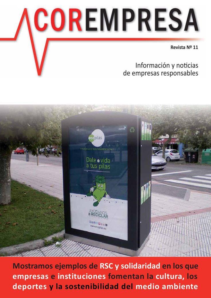 Corempresa Nº 11  Revista sobre mecenazgo, filantropía, patrocinio y responsabilidad empresarial