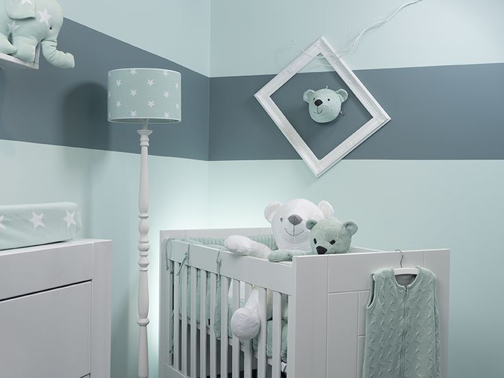 41 best babykamer mintgroen mint images on pinterest, Deco ideeën