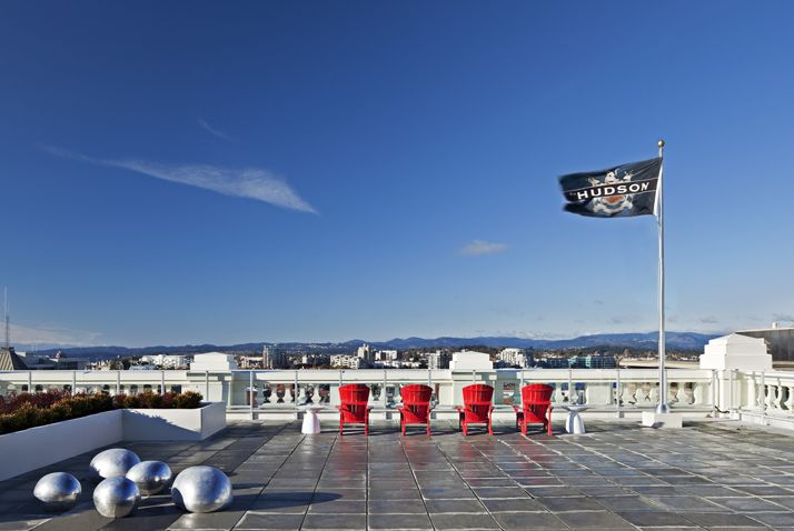 14,000 sf Rooftop Terrace at The Hudson #HudsonDistrict