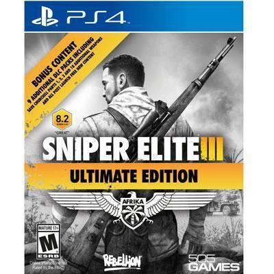 505 Games - Sniper Elite III Ult Ed PS4