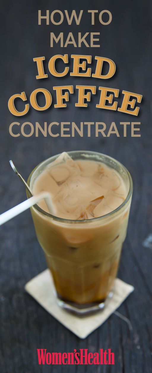 How to make iced coffee concentrate