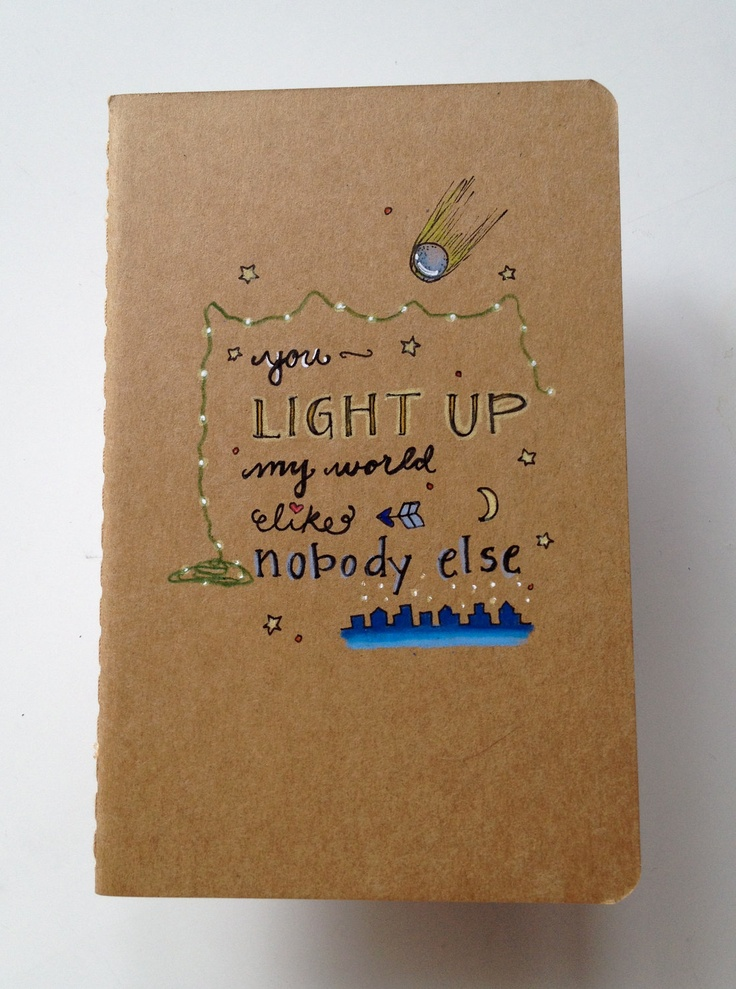 One Direction 'What Makes You Beautiful' Moleskine Pocket Notebook