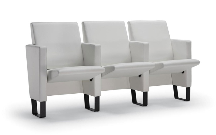 Thea Auditorium Chair for Poltrona Frau | Projects | Foster + Partners