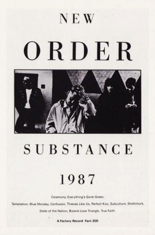 Substance, New Order