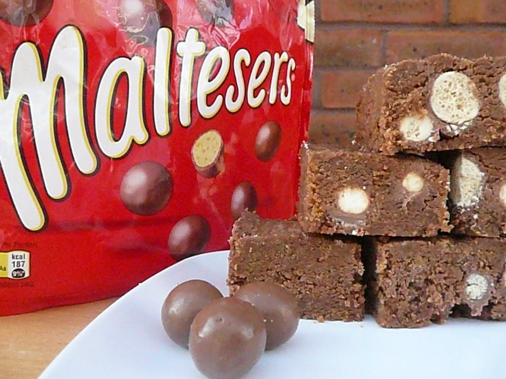Maltesers brownies