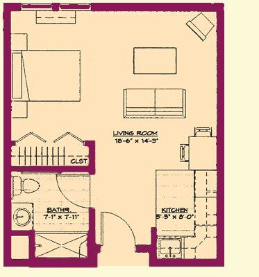 Independent Living Community Floor Plans | Bethlehem Retirement Village - Traditions of Hanover