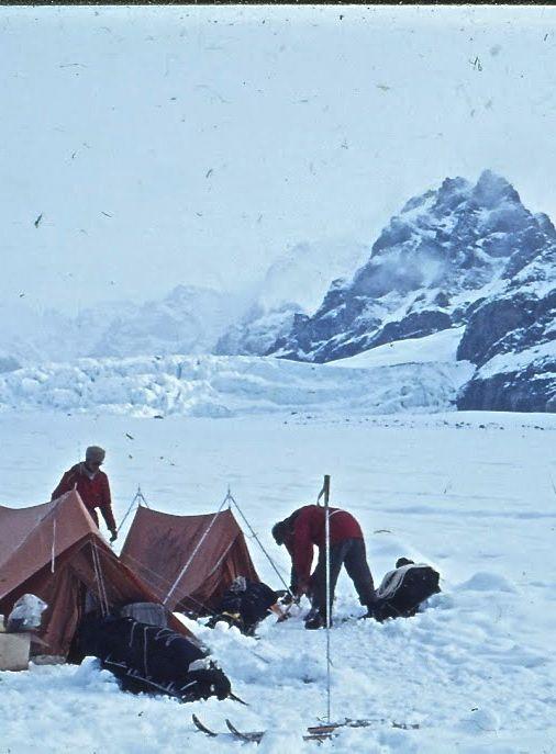 On Oxford Gletscher