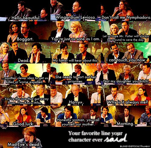 Love that Rupert said the one that followed Emma's line.