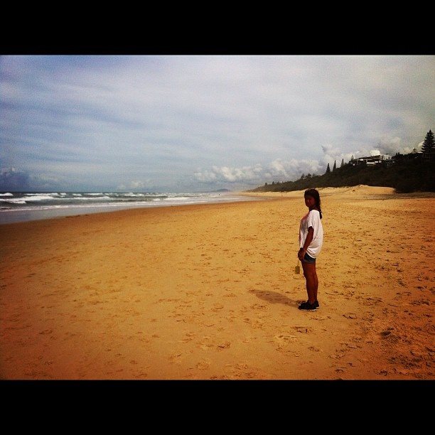 Sunshine beach to ourselves by wadlingbury, via Flickr