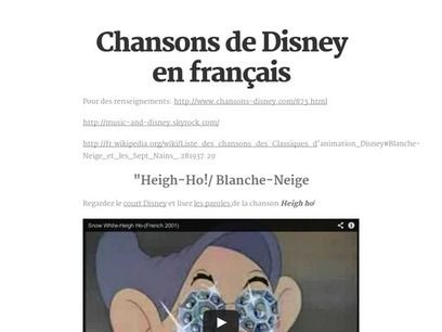 french language and disney Read in another language disney princess  cinderella is based on the heroine of the french  belle remains the best-received disney princess to-date disney .