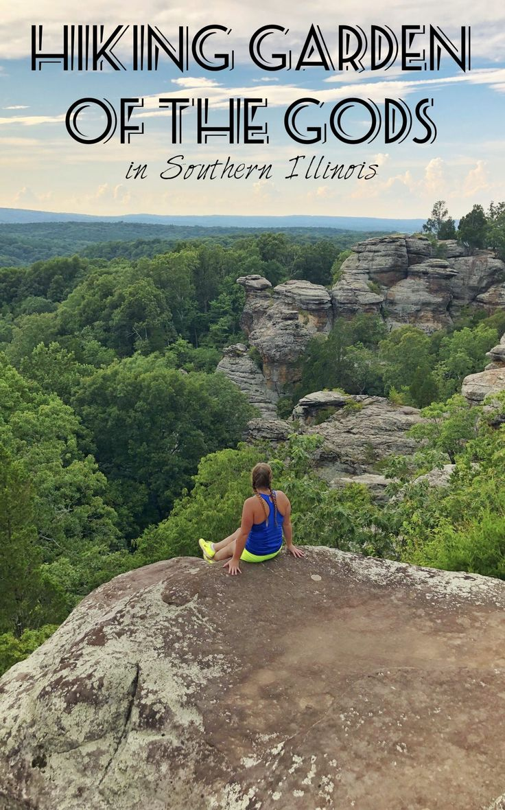 Garden of the Gods in Southern Illinois Camping in