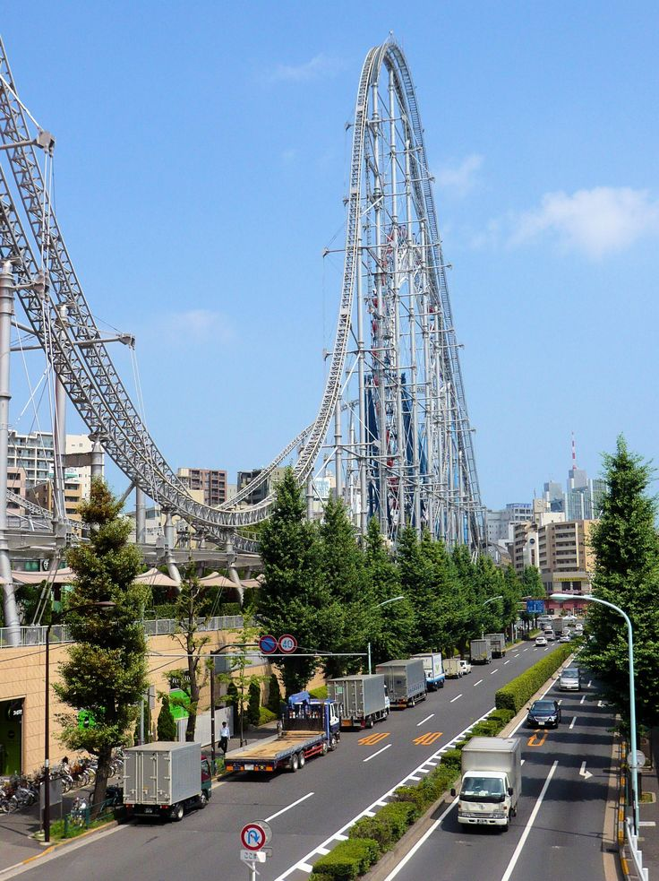 #Tokyo Dome City #RollerCoaster, #Japan