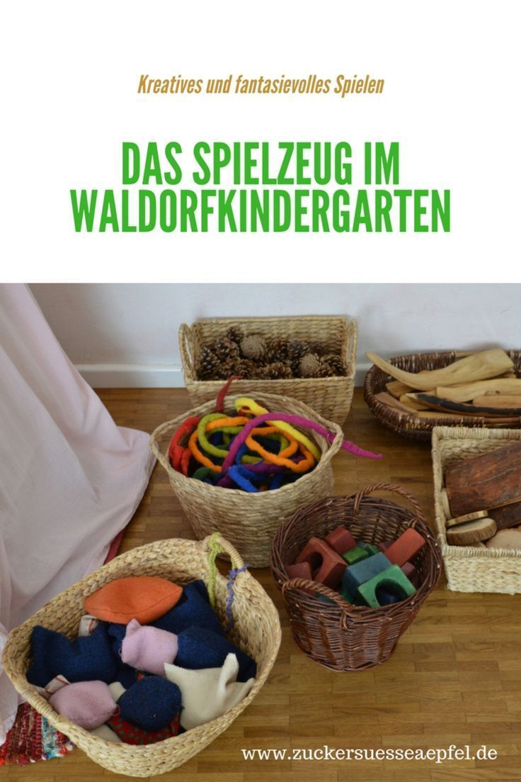 The toy in the Waldorf kindergarten