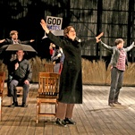 """'The Laramie Project' at BAM's Harvey Theater: TWS patrons may remember our own production of """"The Laramie Project"""" several seasons ago."""