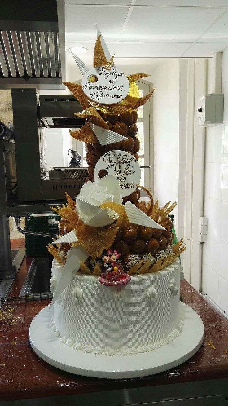 Choux caramelise  #choux #france #pastrychef