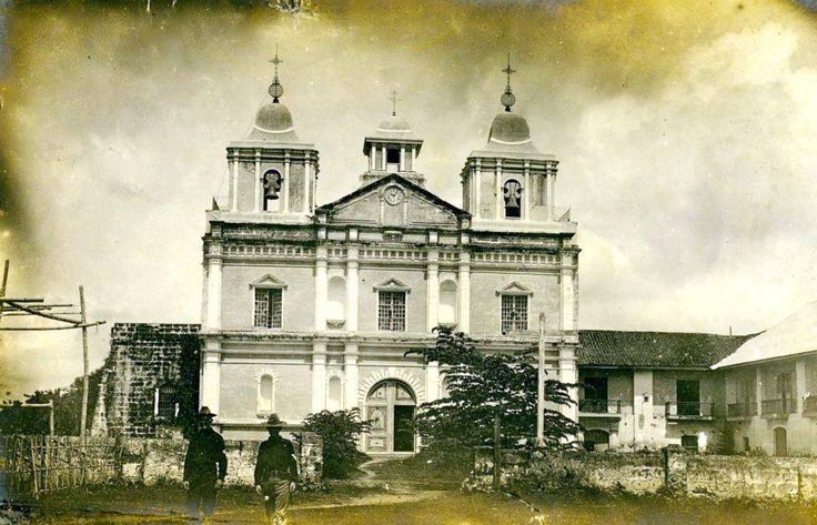 Santa Rosa de Lima Parish Church wayback 1950's