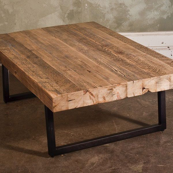 Timber Slab Coffee Table Ships Free, Reclaimed Wood Furniture #reclaimedwood #salvagedwood #barnwoodfurniture