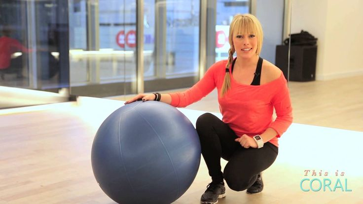 VIDEO: Full Body Workout using a stability ball! @Eva Redpath leads you through the workout here.