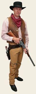 Men's Old West Costume