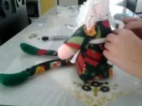 Muñecos de Navidad 2013-2014 - EcoArtesanias - YouTube