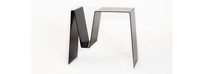 Folded side table