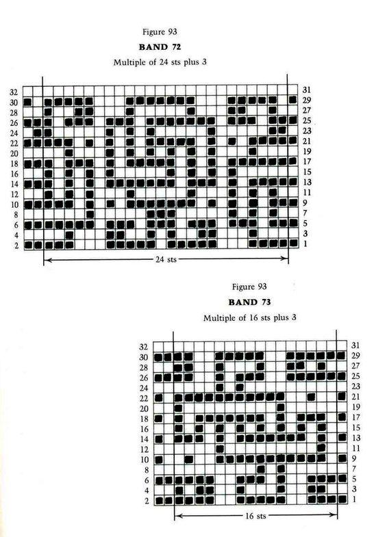 Mosaic Knitting Barbara G. Walker (Lenivii gakkard) Mosaic Knitting Barbara G. Walker (Lenivii gakkard) #142