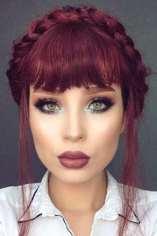 21 Popular Fringe Bangs Hairstyles for Women | hair inspo ...