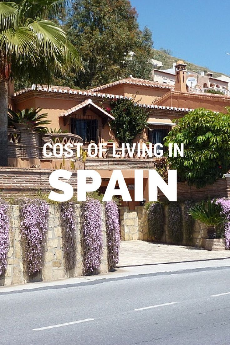 Cost of living in Spain.  Proposed budget and the real numbers of what was spent.