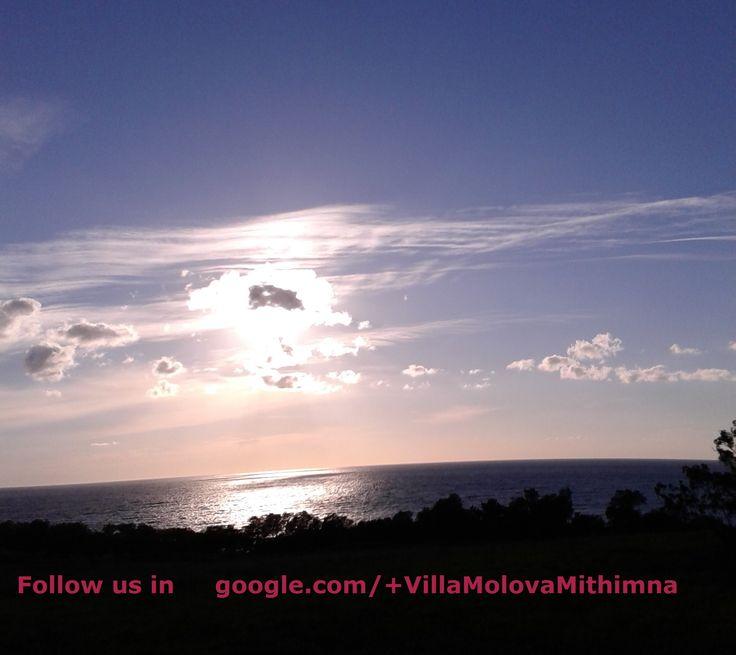perfect evening....goodnight and ..follow us in google.com/+VillaMolovaMithimna #Villa #Molova  #Molyvos, #Μήθυμνα, #Lesvos, #Greece