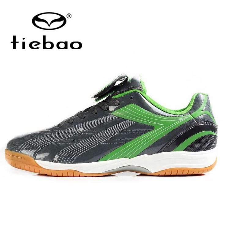 (28.63$)  Watch here  - TIEBAO Professional Men Women IN & IC Sole Shoe Indoor Football Boots PVC Leather Athletic Training Soccer Shoes chuteira futsal