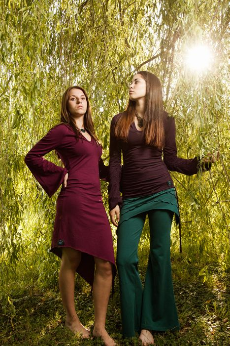 Ajna Design - Inspired by Nature: Green Fashion, Eco Conscience and Fair Trade  To Tanja and Asaf, comfort and unique style are just as important as fair trade and sustainability. All Ajna designs come into existence in accordance with nature and are guaranteed to be of highest organic cotton quality.