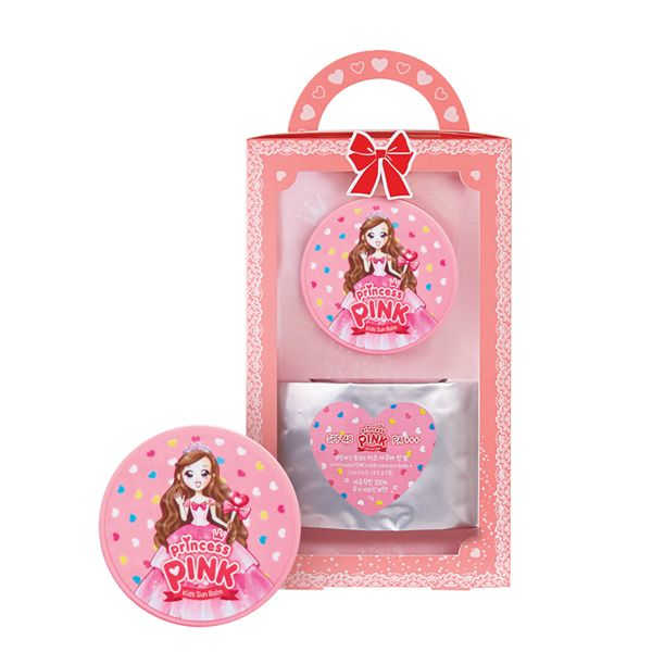 Daycell Princess Pink Kids Aqua Sun Balm 11g Spf48 Pa Pink