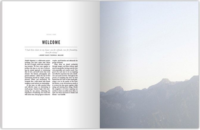 One of the best designed magazines I have seen in a very long time. My very own hard copy arrives October. Kinfolk.