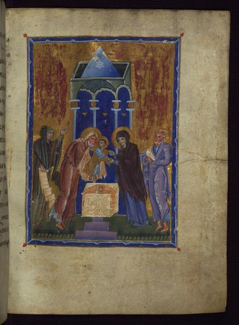 Meeting of the Lord in the Temple / Candlemas  Whispers of an Immortalist: Books and Manuscripts 1