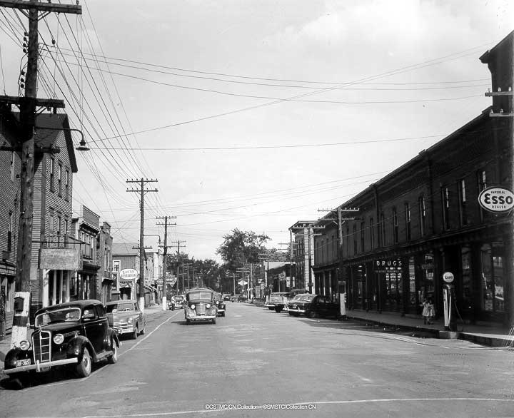Main Street Sussex 1950