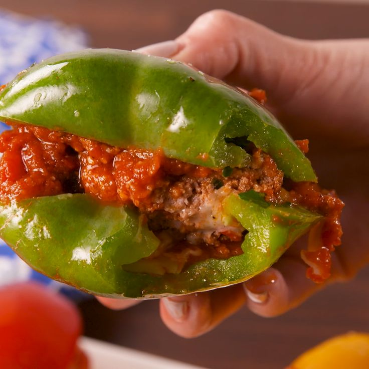 Bell peppers can be so much more than just forgotten dippers. #food #easyrecipe #ideas #healthyeating #cleaneating