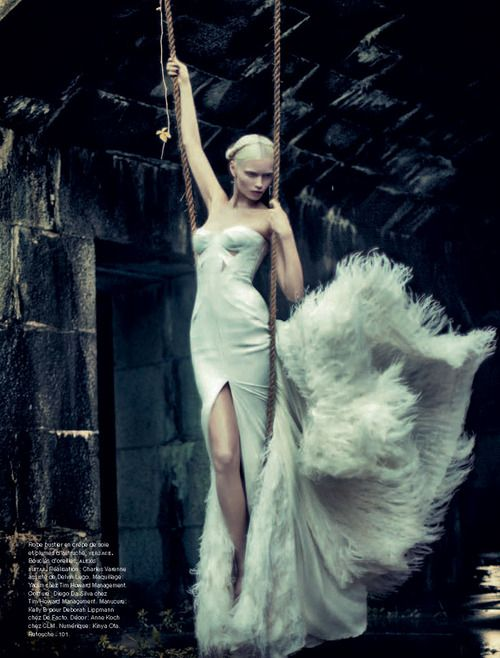 Abbey Lee Kershaw by Sebastian Kim, Numero