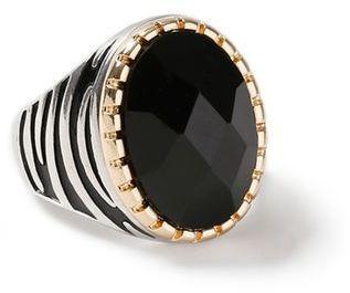 Topman Mono Stripe Ring*