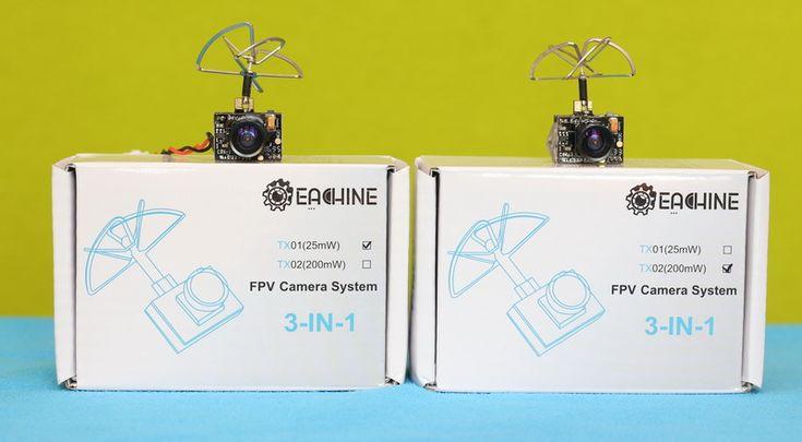 Eachine TX01/TX02 AIO FPV cameras.