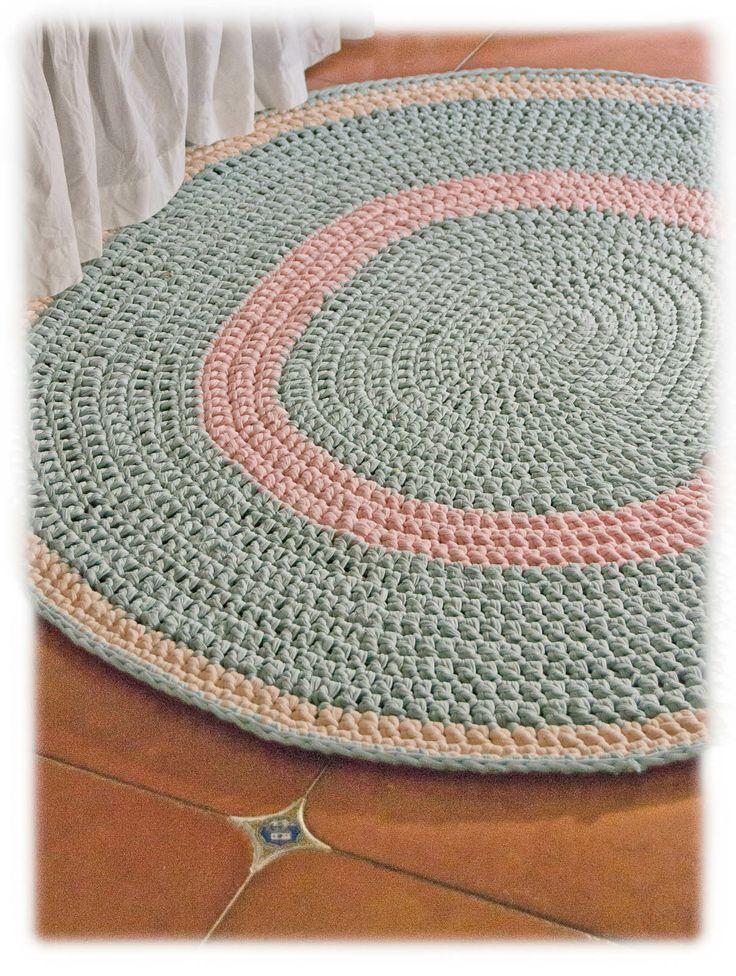 M s de 1000 ideas sobre alfombras de trapo en pinterest - Alfombras de trapillo ...