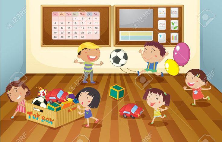 Výsledok vyhľadávania obrázkov pre dopyt children in the classroom illustration