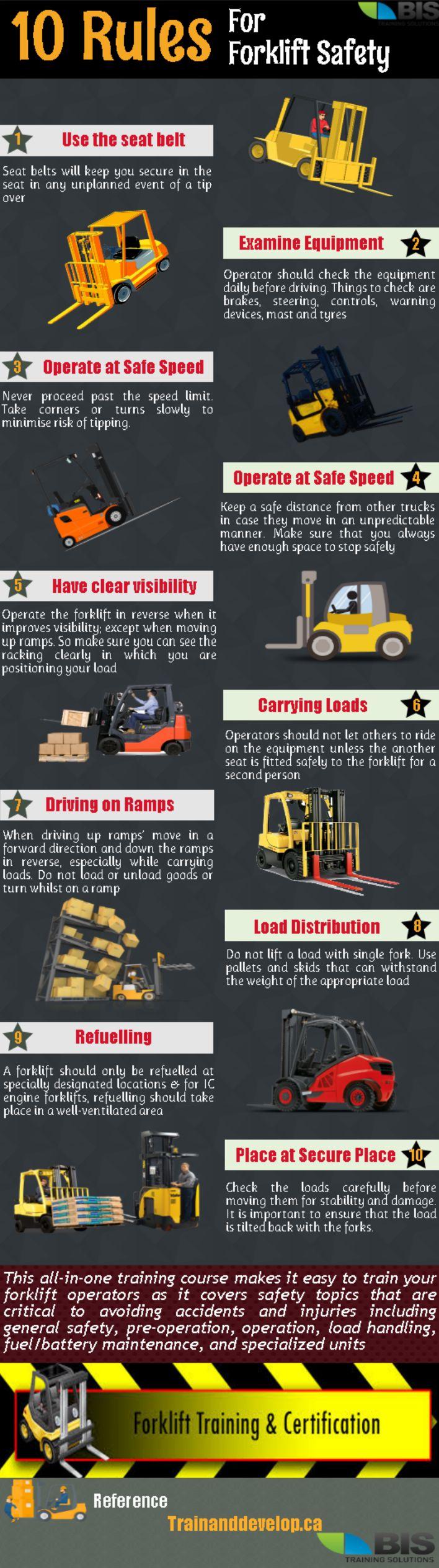 Forklift Safety Training #workplace #workatheight #safetytraining