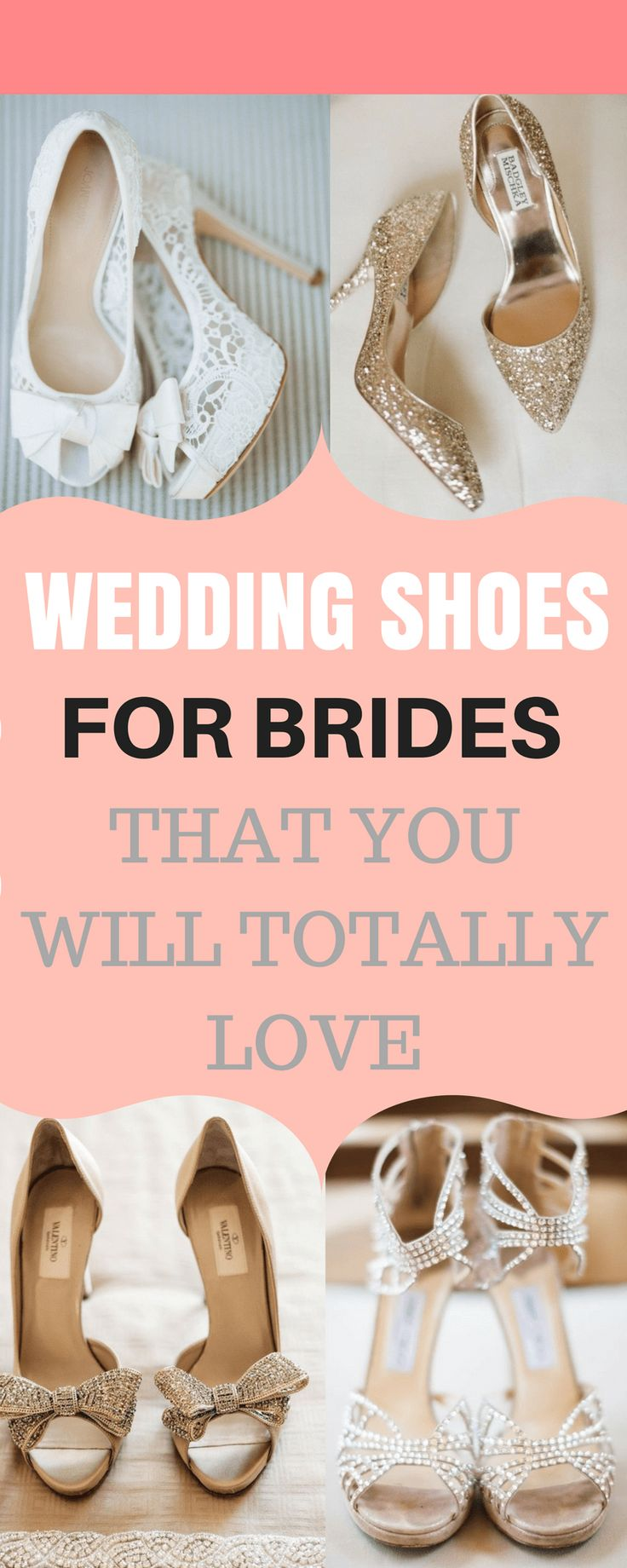 Wedding shoes for brides. Comfortable wedding shoes for brides. Simple wedding shoes for brides, The best bridal shoes for weddings. Finding the perfect wedding shoes for your big day! Jimmy shoo. Wedding shoe ideas. Lace wedding shoes. #Weddingshoes #bridalshoes