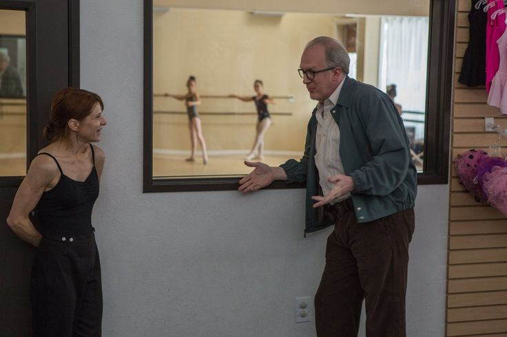 Melora Walters and Tracy Letts