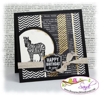 Zoo Review Birthday  by Sandi MacIver www.stampingwithsandi.com and I shared a card recipe here:  http://stampingwithsandi.com/zoo-review-for-the-mojo/